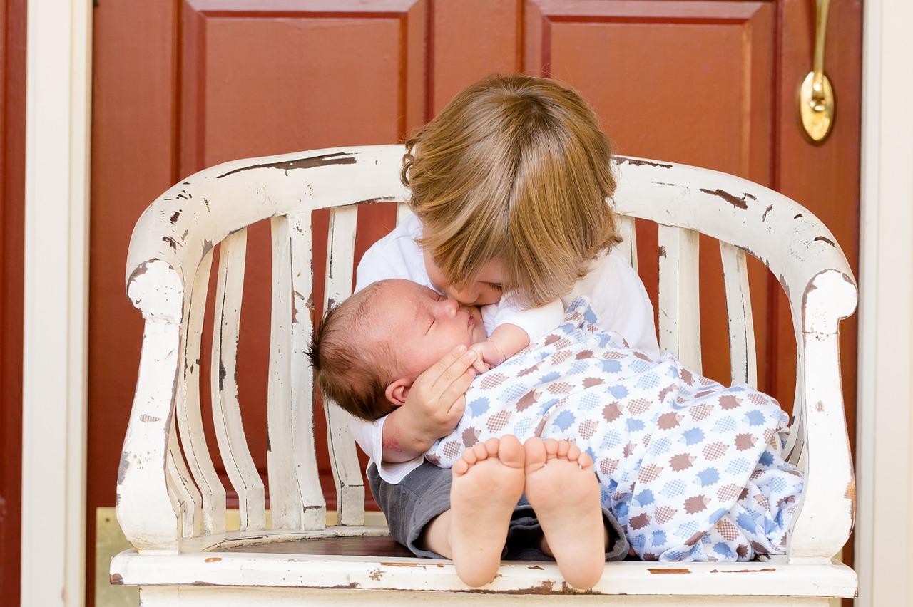 la nascita di un bimbo