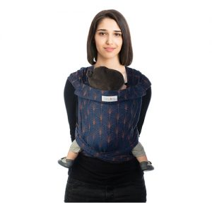 Marsupio BB Tai – Jacquard Ornate Blue