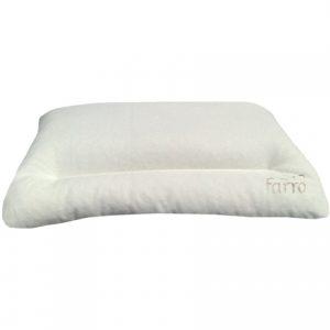 Cuscino per letto ergonomico in pula di farro 100% bio Naturale