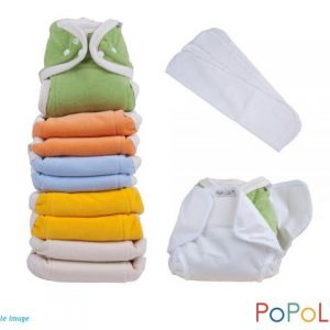 Popolini One Size Soft Set Rainbow