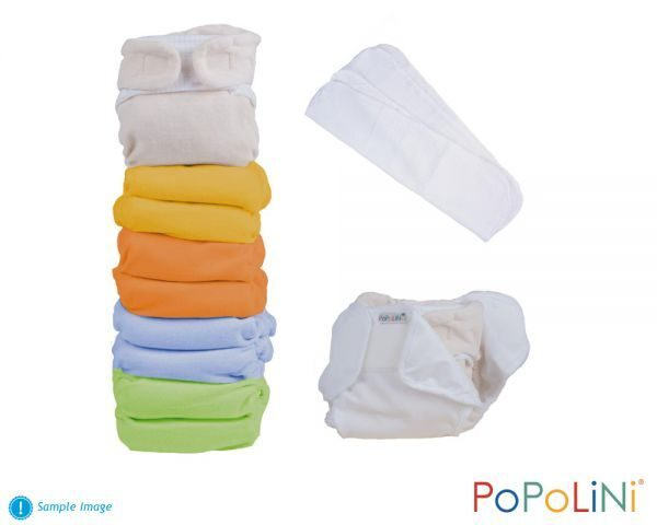Popolini Panda Soft Set rainbow