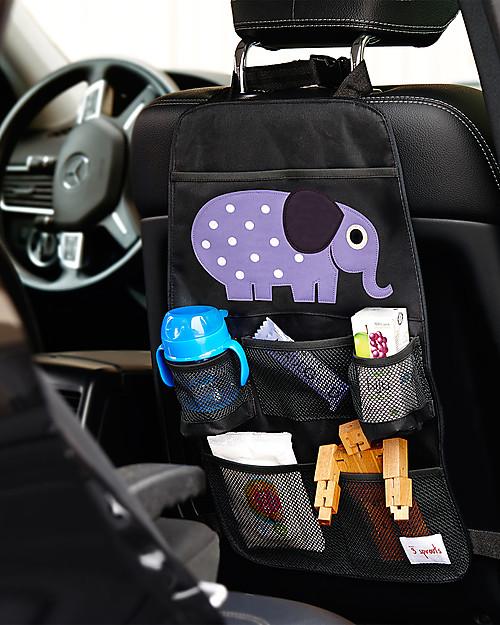 3Sprouts Portaoggetti per Auto Elefante.