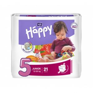Happy pannolini usa e getta ecologici Junior