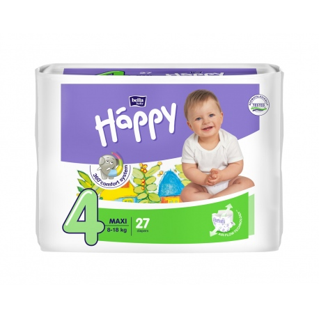 Happy pannolini usa e getta ecologici Maxi