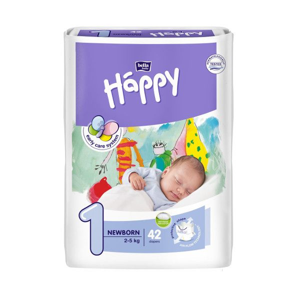Happy pannolini usa e getta ecologici Newborn