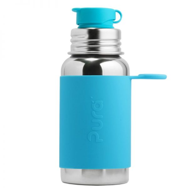 PuraKiki Bottiglia Sport in Acciao ml 550 Acqua