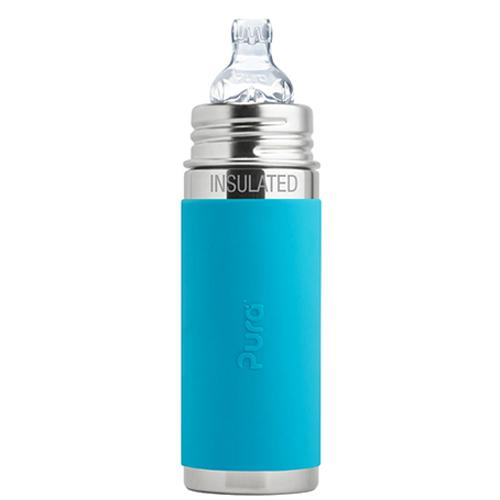PuraKiki Bottiglia Termica in Acciaio ml 250 - Blu