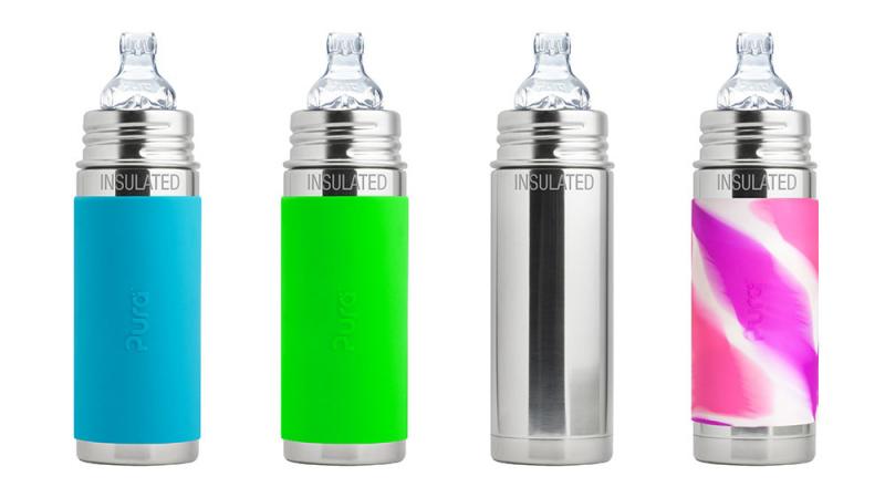 PuraKiki Bottiglia Termica in Acciao ml 250
