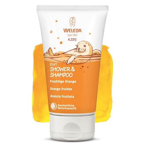 Weleda Kids Doccia-Shampoo 2in1 – Arancia fruttata