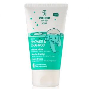 Weleda Kids Doccia-Shampoo 2in1 - Menta fresca