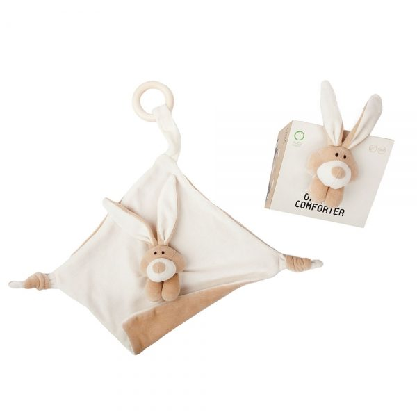 Wooly Organic Doudou Coniglietto Bunny