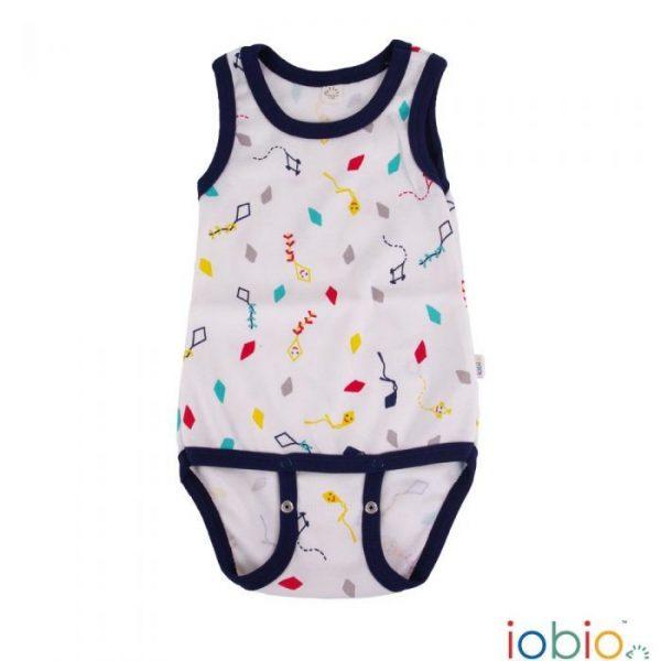 Body cotone IoBio PoPoLiNi senza manica - Kites
