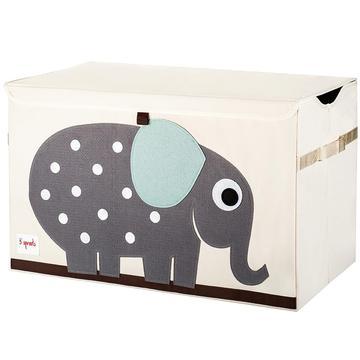 baule porta giochi 3 sprouts elefante