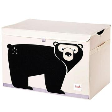 baule porta giochi 3 sprouts orso