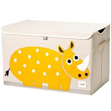 baule porta giochi 3 sprouts rinoceronte