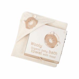 telo bagno cotone bio orsetto teddy