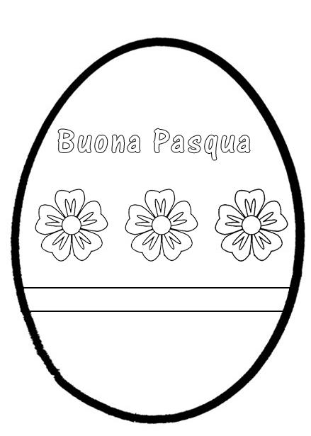 Pasqua disegni da colorare