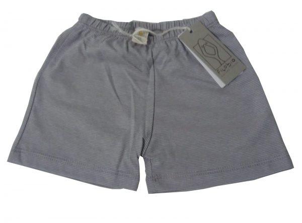 pantaloncino grigio filobio