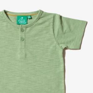 particolare shirt verde LGR