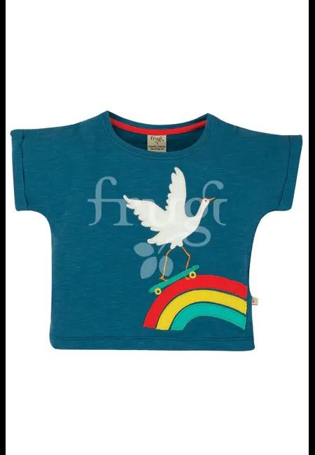 shirt blu bimba
